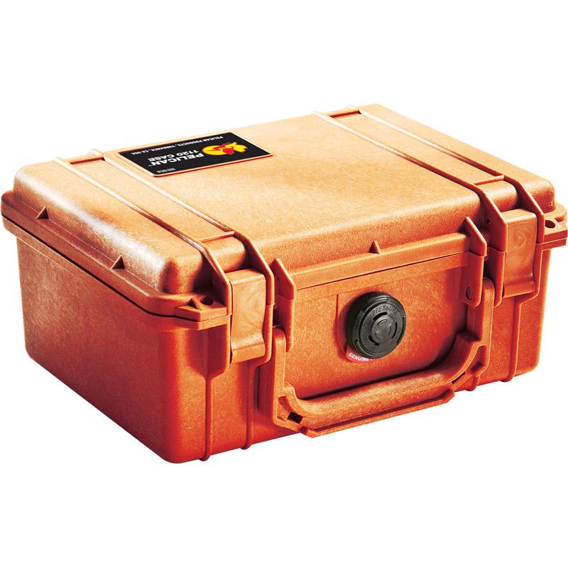 18089214-5 PELICAN 1150 プロテクターケース *オレンジ/ピックンプラックフォーム付き