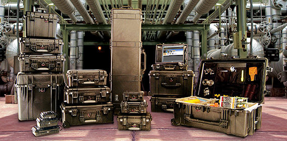 18089214-6 PELICAN 1150 プロテクターケース *イエロー/ピックンプラックフォーム付き