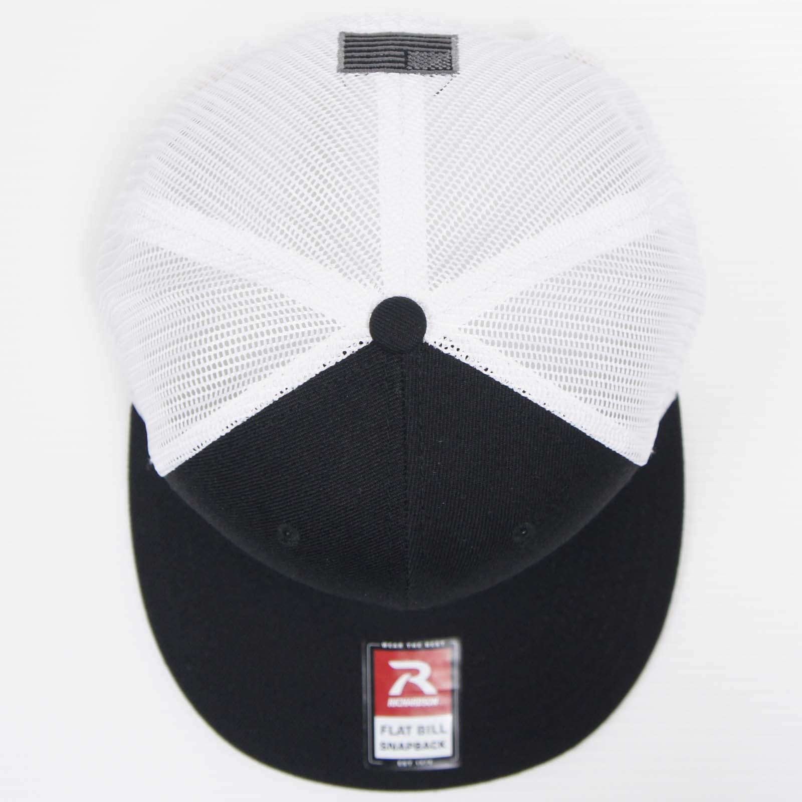 20070176 LEADNAV SYSTEMS「Black & White」スナップバックキャップ *ブラック・ホワイト/ステッカー2枚付き