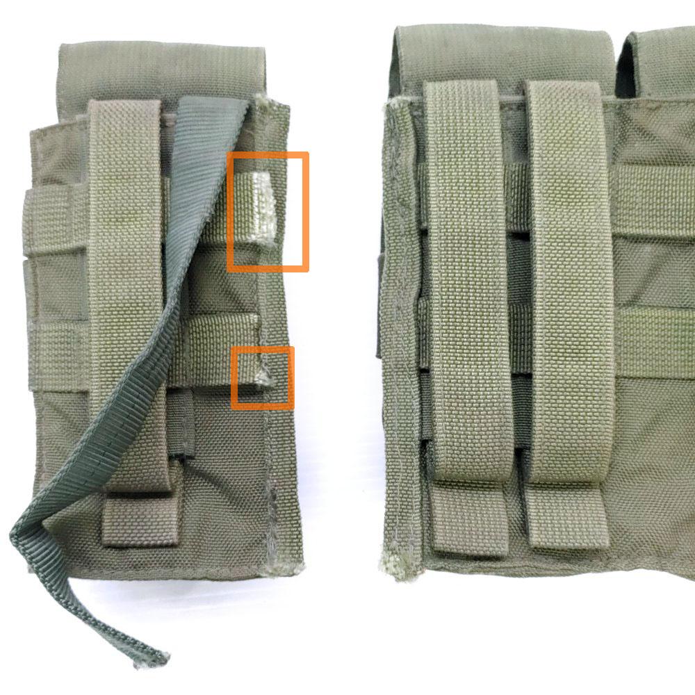 20100439-3 TAG M4マガジンポーチセット *OD/カスタム