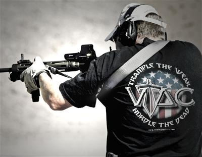17060565 VIKING TACTICS製 VTAC-MK2 ワイドパッド付きスリング *マルチカム色