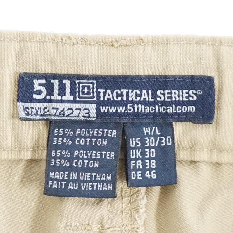 15111308 5.11 TACTICAL 74273 TACLITE PRO ワークパンツ *カーキ/30/30サイズ/リップストップ