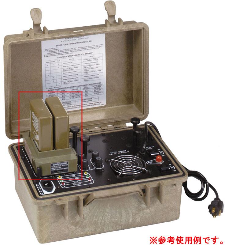17030359 米軍官給品 BREN-TRONICS製 P/N:BTA-70808(J-6357A/P)バッテリーターミナルアダプター *BB-388/2588用