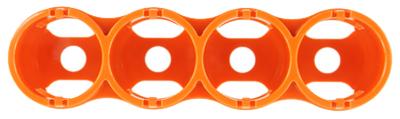 16092104 GG&G GGG-1485 タクティカルバッテリーホルダー 単二乾電池x4 レスキューオレンジ