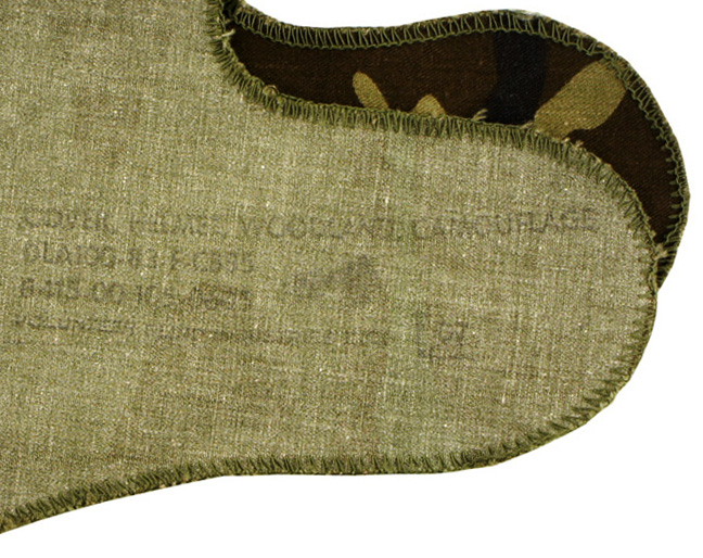 16112262 米軍放出品 官給 M1ヘルメット用カバー *ウッドランド色
