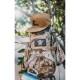20090408-11 URT CLOTHING リップストップクラシック刺繍ロゴスナップバックキャップ *コヨーテ/ワンサイズ