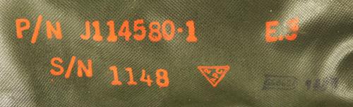 16112363 米軍放出品 官給 エアクルー用サバイバルキット収納パック