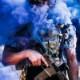 20050058 暑い夏を吹き飛ばす「アロハソルジャー」アイテム!! OAF NATION M320 アロハシャツ *Sサイズ/ALOHA-M320-1S