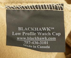 16031587 米軍放出品 BLACKHAWK!社製 HELLSTORM ロープロファイルフリースウォッチキャップ *CT色