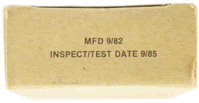 16112448 米軍放出品 官給 レーション 固形燃料 *ミニサイズ/3個セット