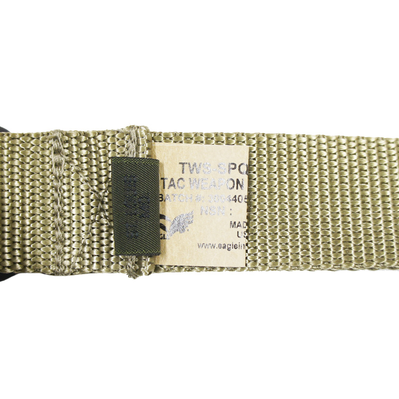 18069169 EAGLE シングルポイントウェポンスリング *カーキ/クイックリリース機能付き