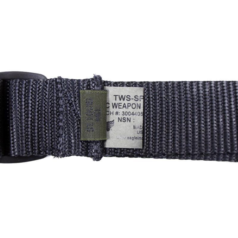 18069172 EAGLE シングルポイントウェポンスリング *ブラック/クイックリリース機能付き