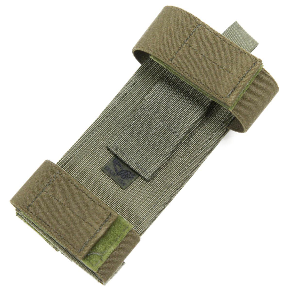 20080303-17 EAGLE 7.62mm ストックアモホルダー *OD/7.62mmカートリッジ9発保持