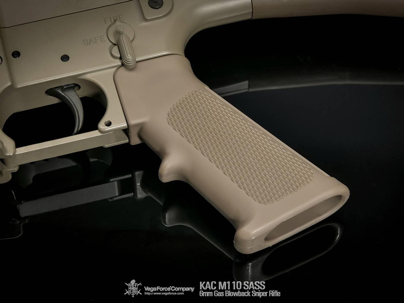 VFC ガスブローバック KAC M110 SASS *タン/日本仕様/ナイツアーマメントライセンス品 【品番:VF2J-LM110-TN01】