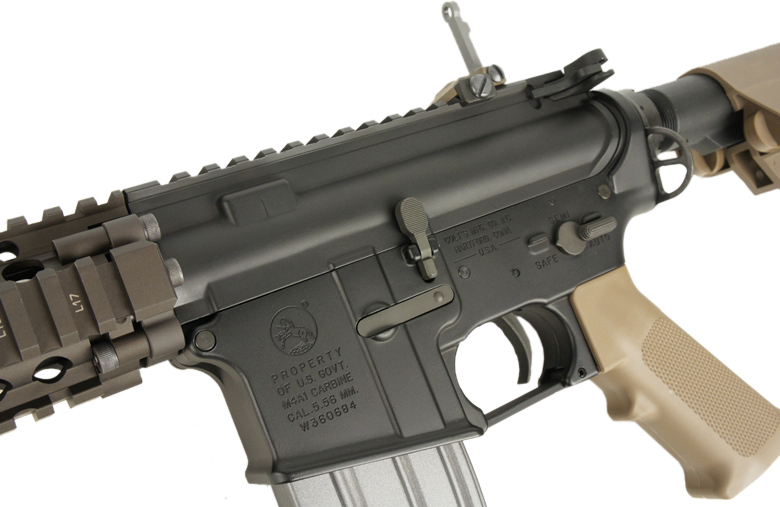 VFC 電動ガン COLT MK18 MOD1 COLT & Daniel Defense Licensed *タン/日本仕様/コルト・ダニエルディフェンスライセンス品 【品番:VF1-LMK18M1-TN01】