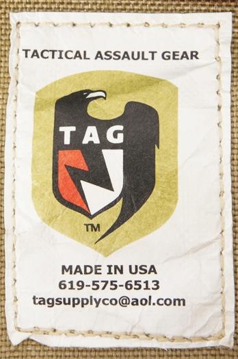 13062775 激レア!! 米軍放出品 TAG社製 M60 100rd アモポーチ *白タグ・3Cデザート色