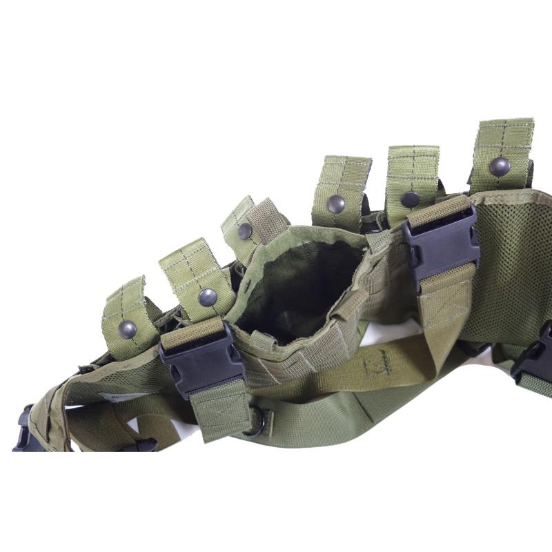 19019541-1 レア!! SOTECH ライフルマンチェストリグ *OD/2004年製バックル/M4マガジン6本収納