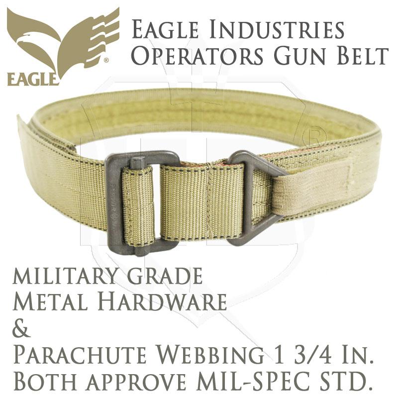 20070121 EAGLE OGB オペレーターズガンベルト *カーキ/XSサイズ