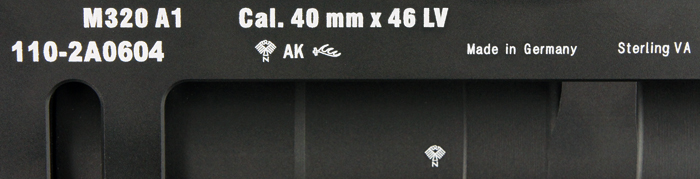IRON AIRSOFT グレネードランチャー H&K M320 GLM