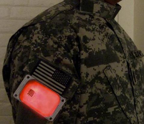 13032265 米軍採用 CYALUME製 CyPad サイパッド イルミネーションツール *グリーン色