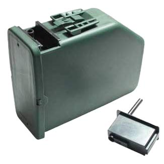 CLASSIC ARMY M249シリーズ 電動給弾ボックスマガジン【品番:P108M/装弾数:2400発】