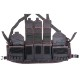 20080306-1 ZERT NATION M4 シューターズチェストリグ *ブラック/レッドステッチ