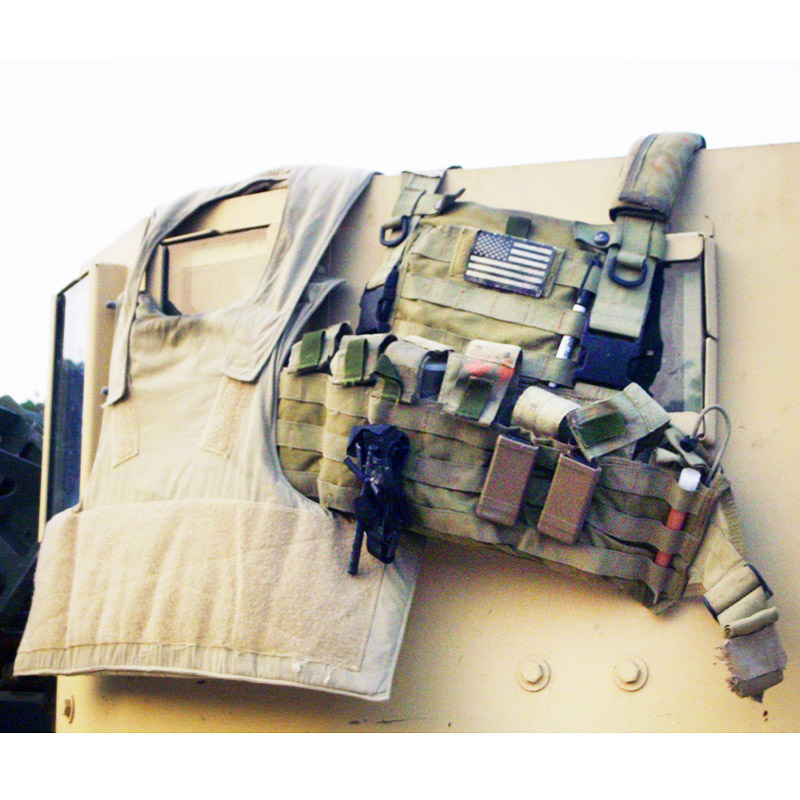 20050056 レア!! SAFARILAND SOCOM LO-VIS ボディーアーマーベスト *タン/Mサイズ/2005年度USSOCOM契約発注品
