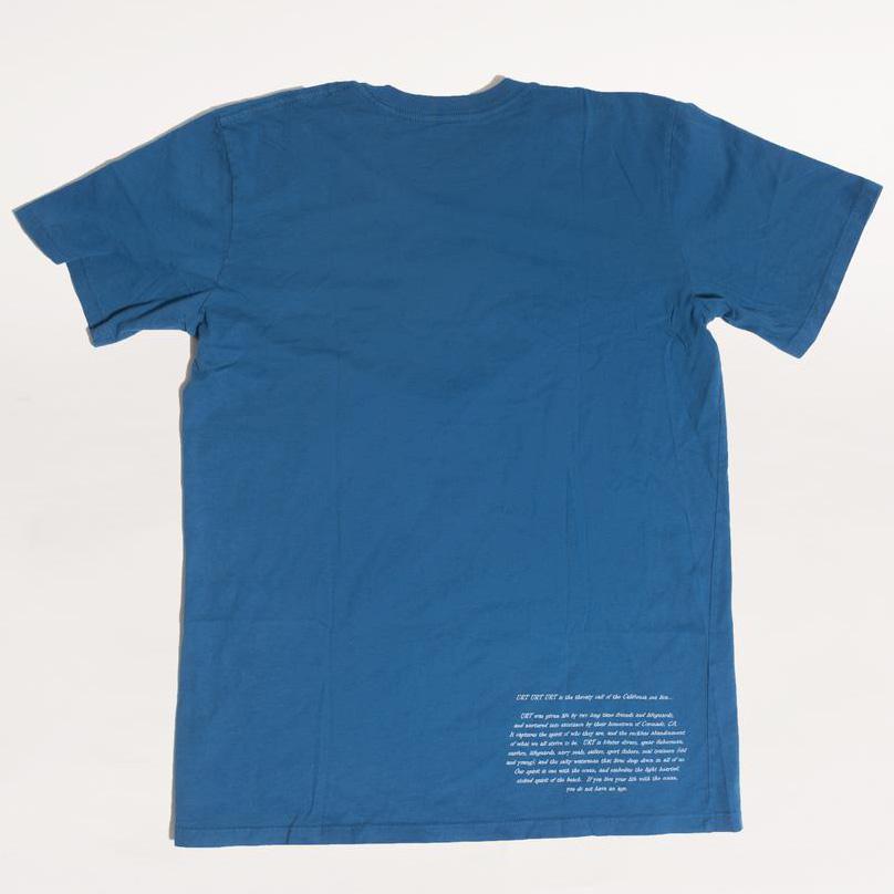 21030528-19 URT CLOTHING URT x Toddland コラボTシャツ *ロイアルブルー/Sサイズ