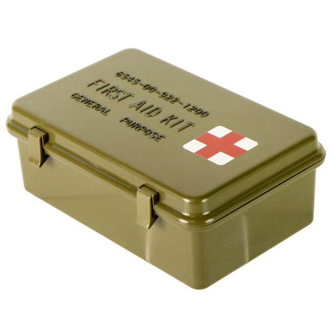16112487 米軍放出品 官給 ファーストエイドキットケース *OD色