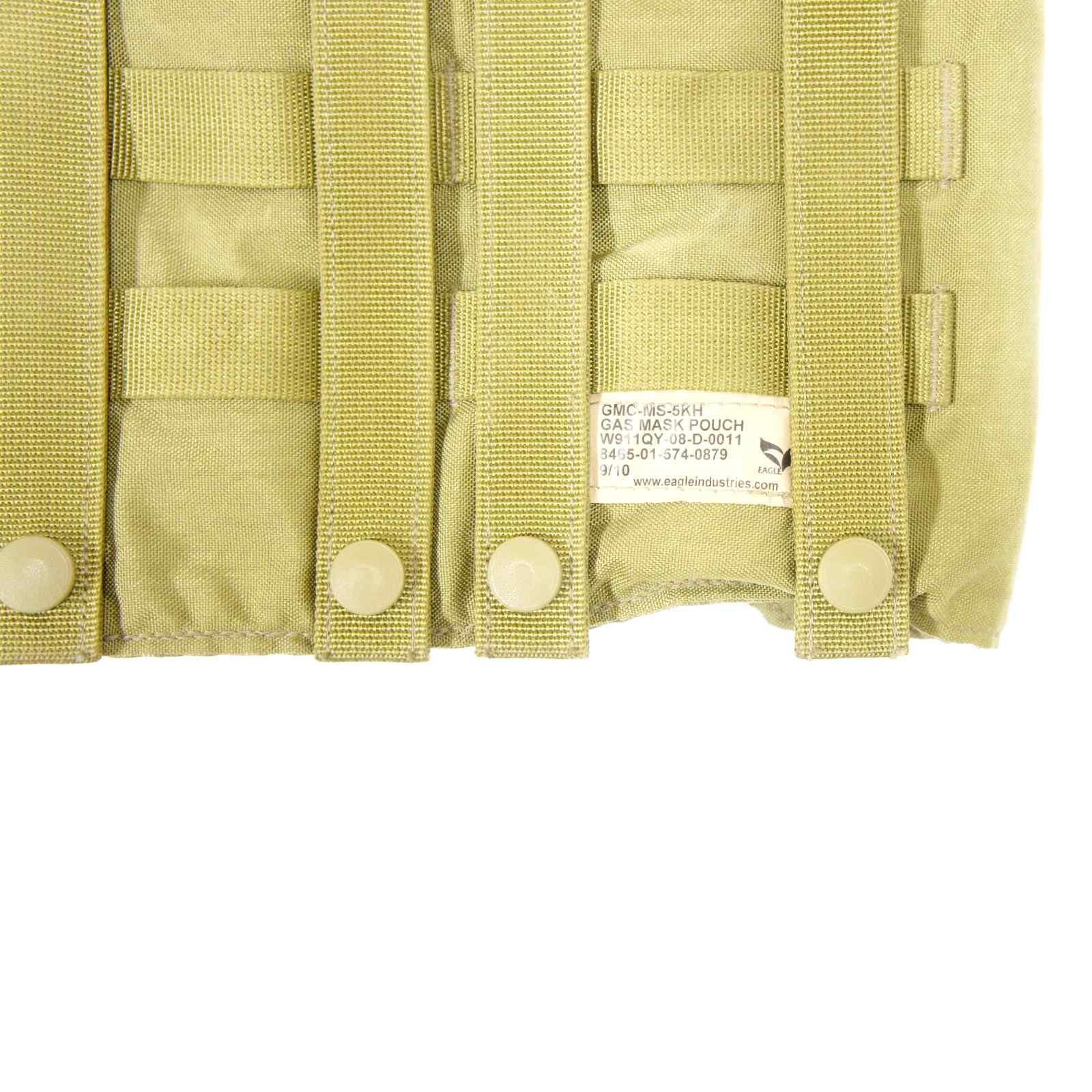 20070137 EAGLE SFLCS ガスマスクポーチ *カーキ/2010年製/カラードットボタン/グリーンベレー