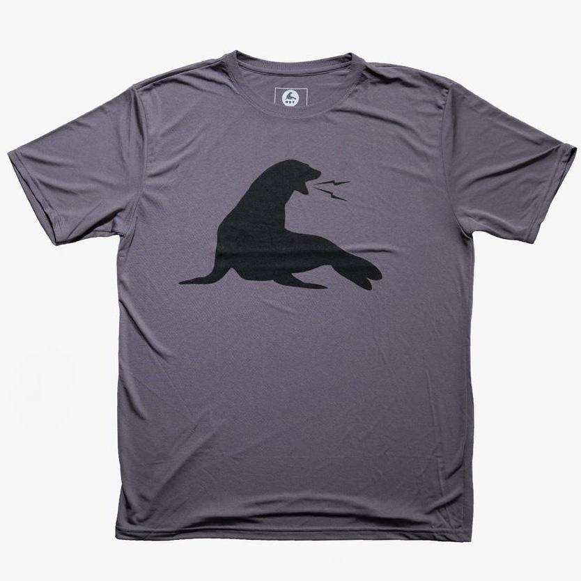 21030528-20 URT CLOTHING URT ドライフィットTシャツ *チャコール/Sサイズ/ポリエステル100%