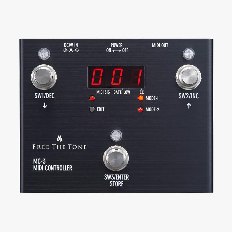 MIDI CONTROLLER MC-3