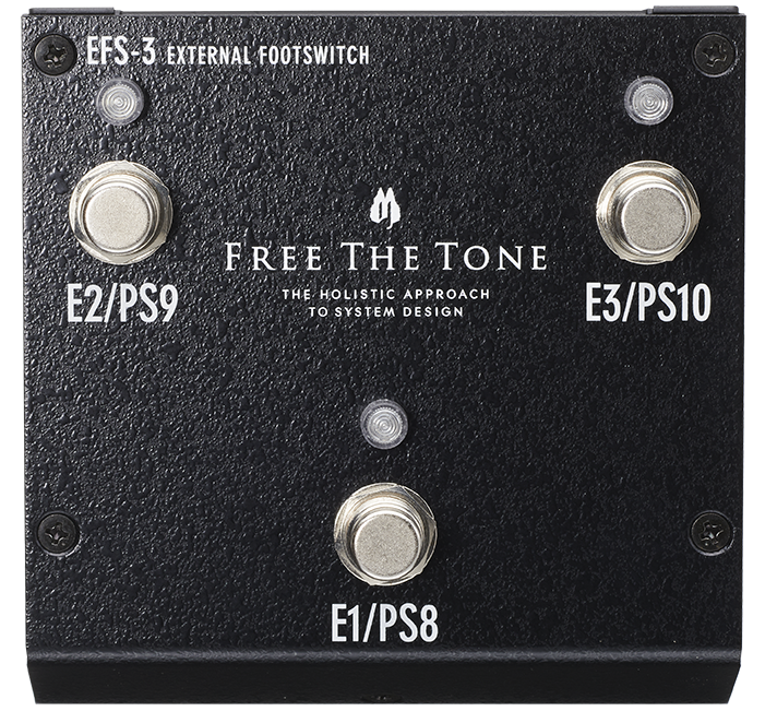 EXTERNAL FOOTSWITCH EFS-3 /専用取付金具KS-AE-1