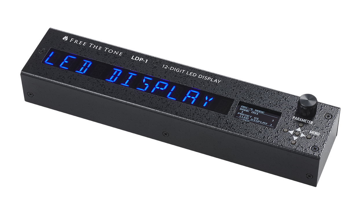 12-DIGIT LED DISPLAY LDP-1/専用取付金具KS-LD-1