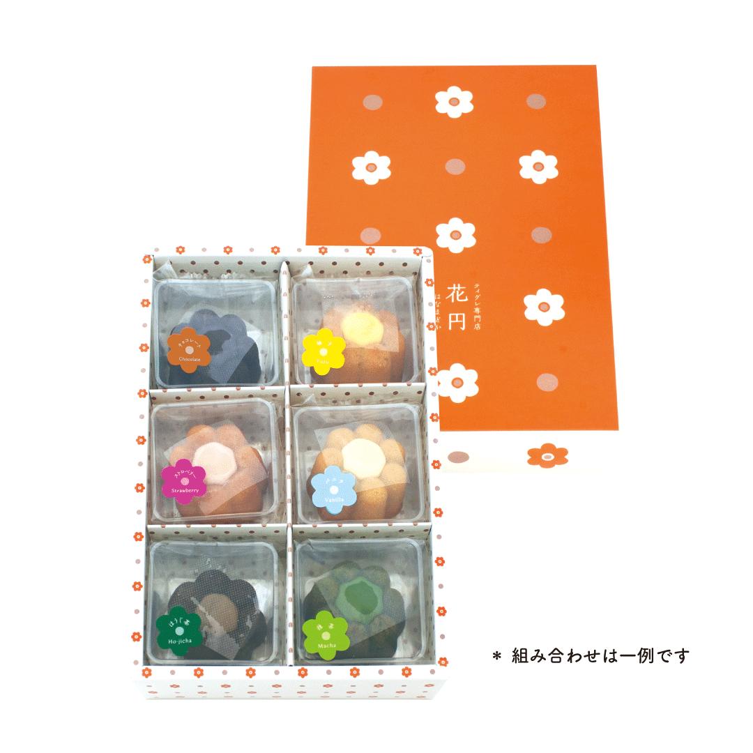 6032 花円 バラエティギフト 6個入