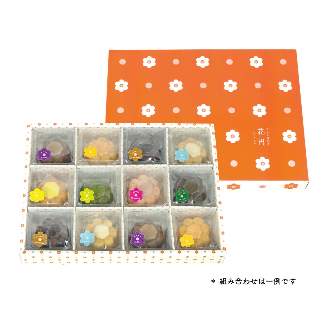 6036 花円 バラエティギフト 12個入