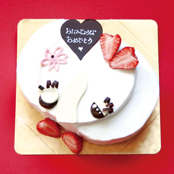 【エレファンルージュ限定】バースデーケーキ ぞうさん 5号サイズ