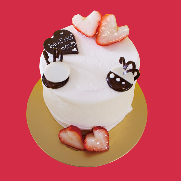 【エレファンルージュ店頭受け取り限定】バースデーケーキ ごろっと いちご