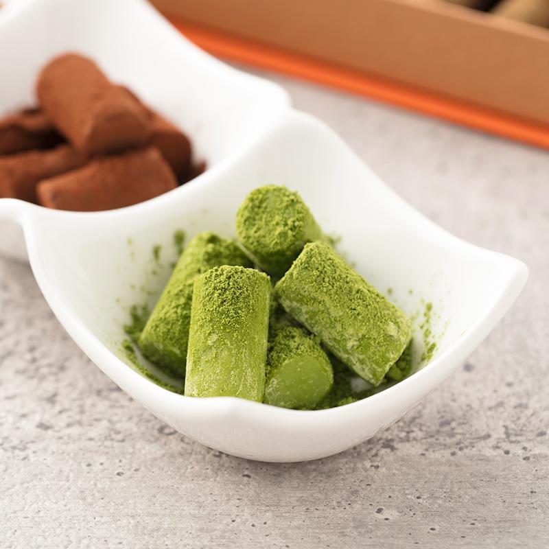 上質な口どけの生チョコレート  抹茶 16個入り【クール便配送】