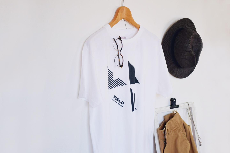 フィールド 地図記号 畑 ロゴTシャツ メンズ レディース