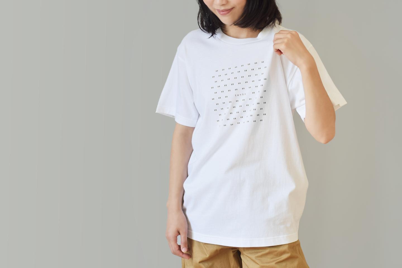 tanbo 地図記号 田んぼ ロゴTシャツ メンズ レディース