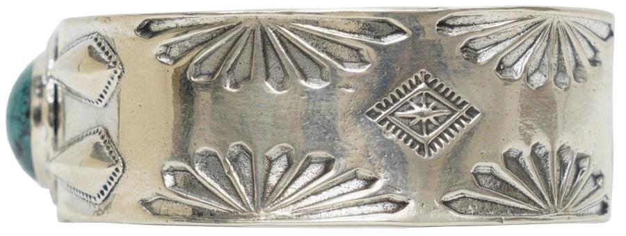 LHN Jewelry(エルエイチエヌ ジュエリー) ハンドメイド ナバホ スターリングシルバー製 バングル � Navajo Cuff Silver