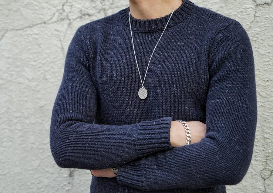 LHN Jewelry(エルエイチエヌ ジュエリー) アメリカ製 ハンドメイド スワロー ネックレス メンズ ユニセックス シルバー Swallow Charm Necklace Silver