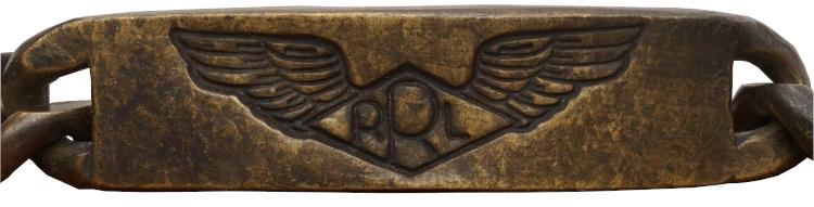 (ダブルアールエル) RRL アメリカ製 ブラス ID ブレスレット 真鍮製 Brass ID Bracelet