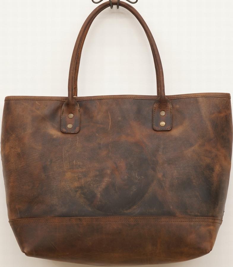 (Will Leather Goods) ウィル レザーグッズ インディゴ バティック トート バッグ No.6 The Indigo Batik Tote