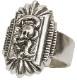 LHN Jewelry(エルエイチエヌジュエリー) ハンドメイド Born To Loose スターリング シルバー スカル リング メンズ レディース ユニセックス Silver Ring