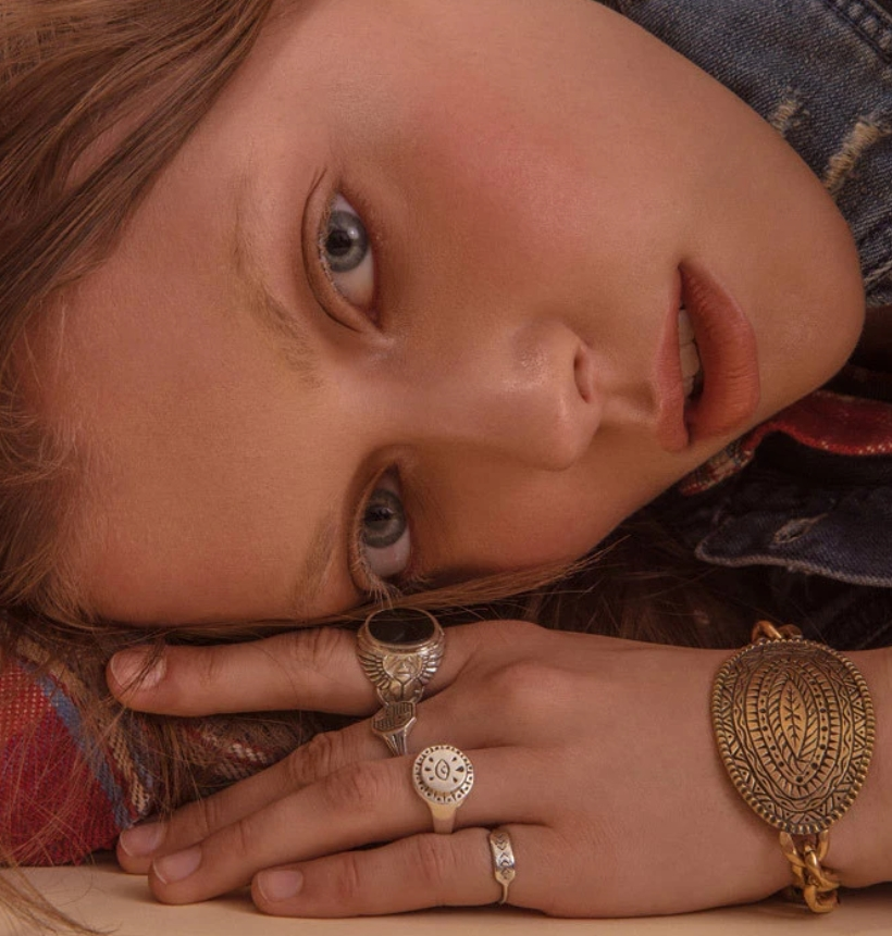 LHN Jewelry (エルエイチエヌ ジュエリー) スターリング シルバー ハンドメイド リング Small All Seeing Eye メンズ レディース ユニセックス Silver Ring