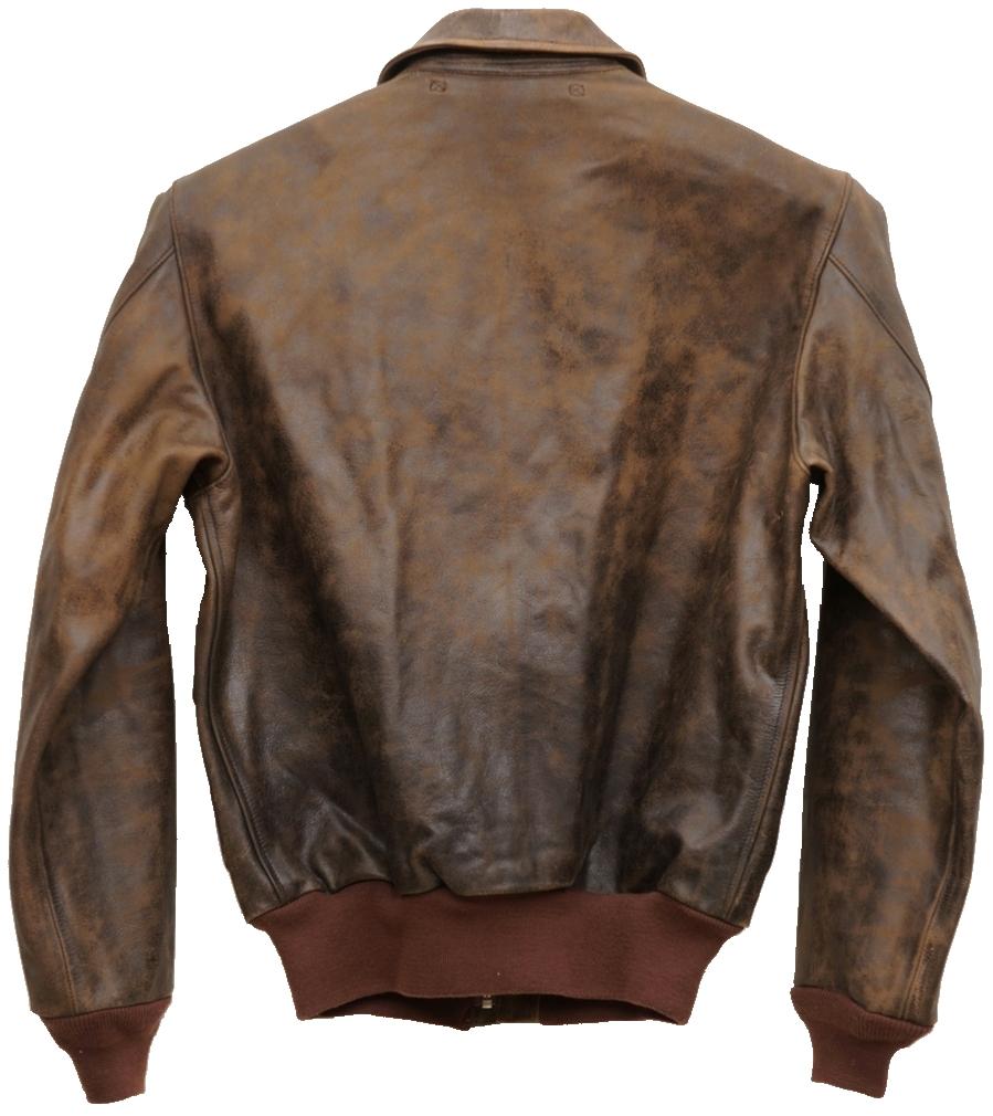 (ダブルアールエル) RRL レザー フライト ジャケット A2 メンズ Leather Flight Jacket