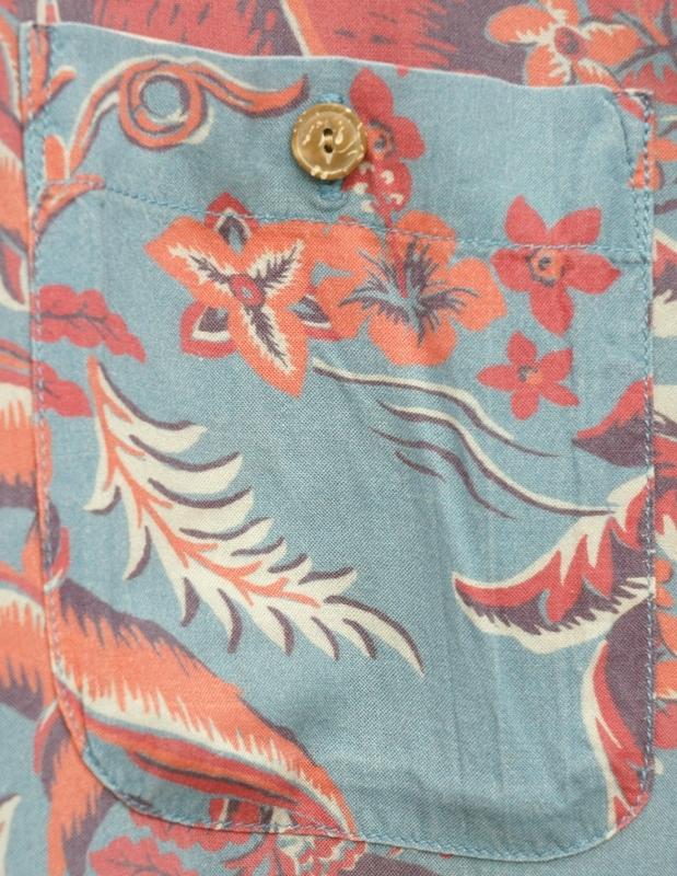 FAHERTY BRAND (ファリティ ブランド) ハワイアン シャツ アロハ レーヨン 半袖 メンズ