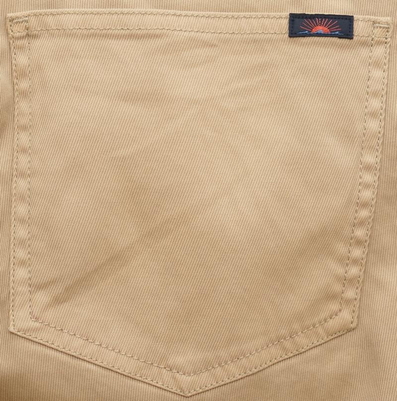 FAHERTY BRAND (ファリティ ブランド) コンフォート ツイル チノ カーキ ストレッチ メンズ Comfort Twill Khaki